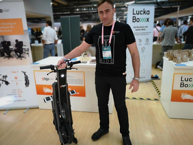 Estonian entrepreneur Ardo Reinsalu, CEO and founder of Stigo.
