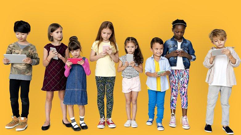 AndroidPIT apps for kids shutterstock 575246533