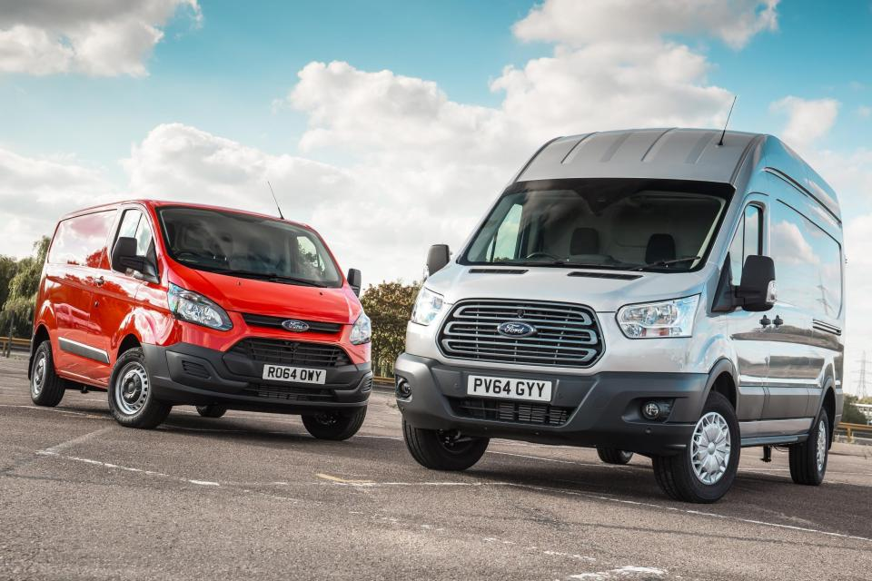 Nearly 30 per cent of all van accidents are in a Ford