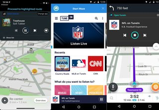 Waze Supercharges In-car Music Waze Audio Player Adds Tunein Deezer Pandora And More image 2