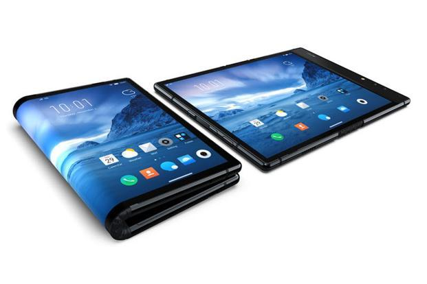 FlexPai is the world's first foldable smartphone.