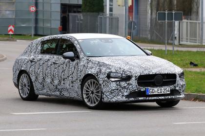 Mercedes CLA Shooting Brake - spyshot 2