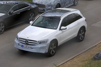 Mercedes GLC facelift front