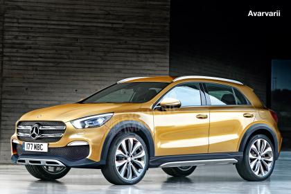 Mercedes GLA - front (watermarked)