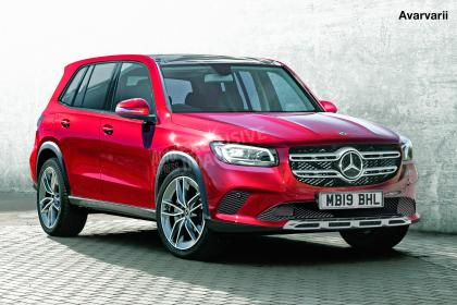 Mercedes GLB - front (watermarked)