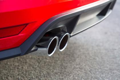 VW Polo GTI DSG - exhaust