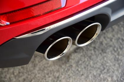 New Audi A4 2016 exhaust