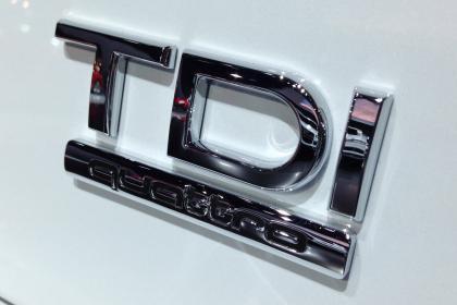 Audi CleanDiesel TDI badge