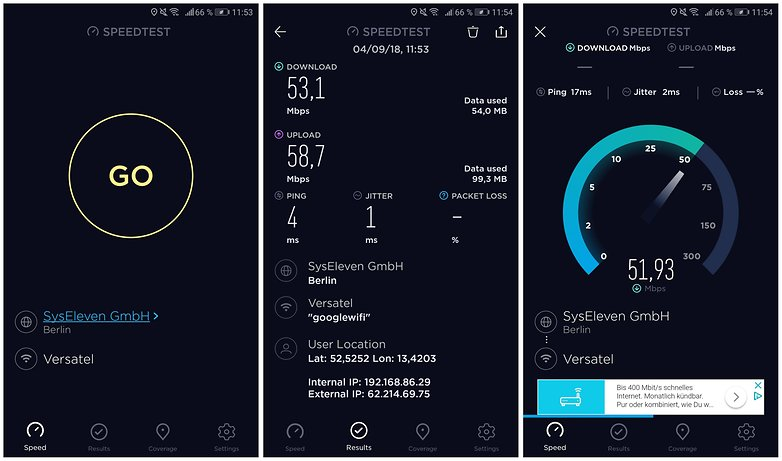 wifi speedtest ookla