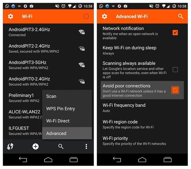 AndroidPIT WiFi Avoid Poor Connections