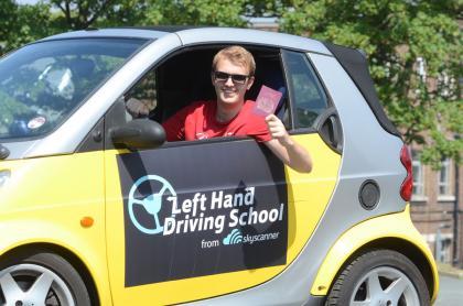 left hand driving school 2
