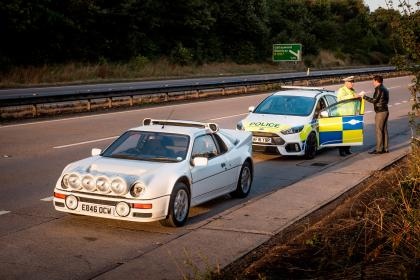 Ford Focus RS Police Car