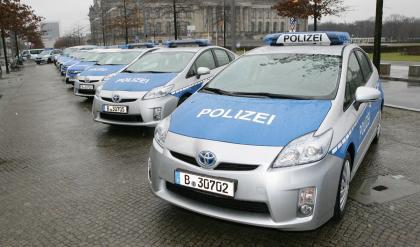 Toyota Prius police car