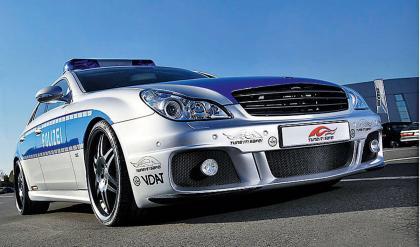 Mercedes CLS Brabus police car