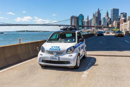 Smart Fortwo NYPD Police Car