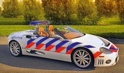 Spyker C8 police car
