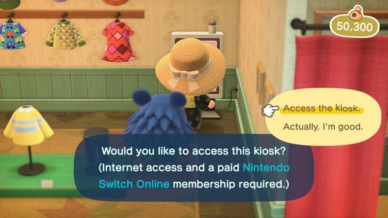 Animal Crossing New Horizons Custom Kiosk