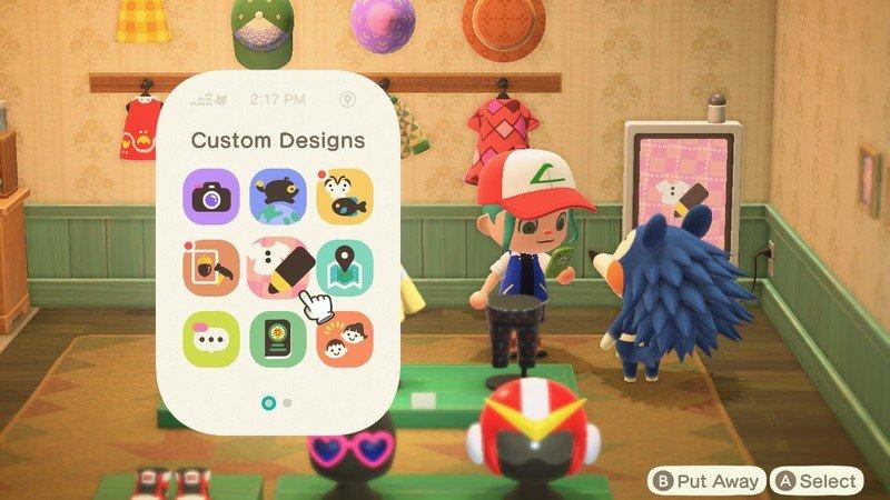 Animal Crossing New Horizons Nook Phone Custom Designs