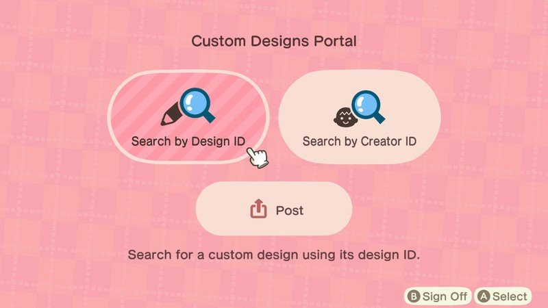 Animal Crossing New Horizons Custom Search