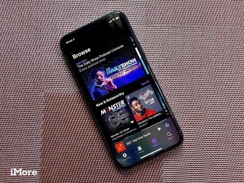 Browse Podcasts on iPhone 11 Pro