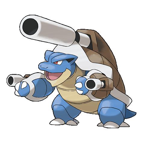 Pokemon 009 Blastoise Mega