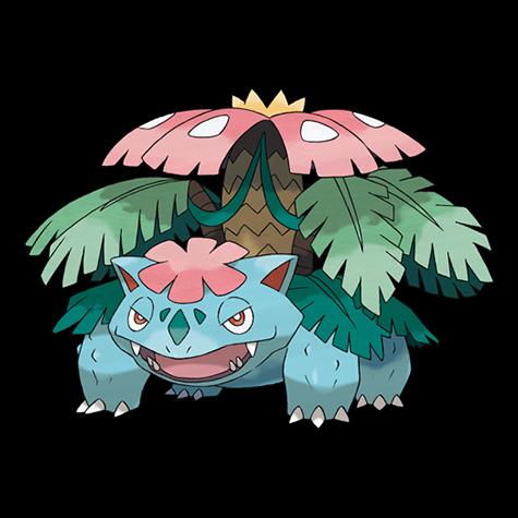Pokemon 003 Venusaur Mega