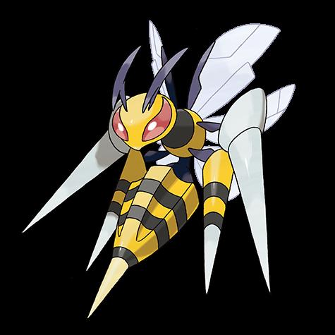 Pokemon 015 Beedrill Mega