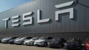 Tesla (TSLA) Motors Assembly Plant in Tilburg, Netherlands.