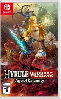 Hyrule Warriors Age Of Calamity Boxart