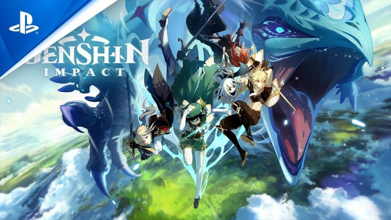 How to Update Genshin Impact PS4 Title Image