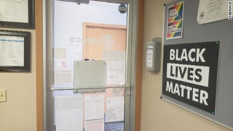 A Wisconsin County cut funding to a domestic violence shelter that showed support for Black Lives Matter