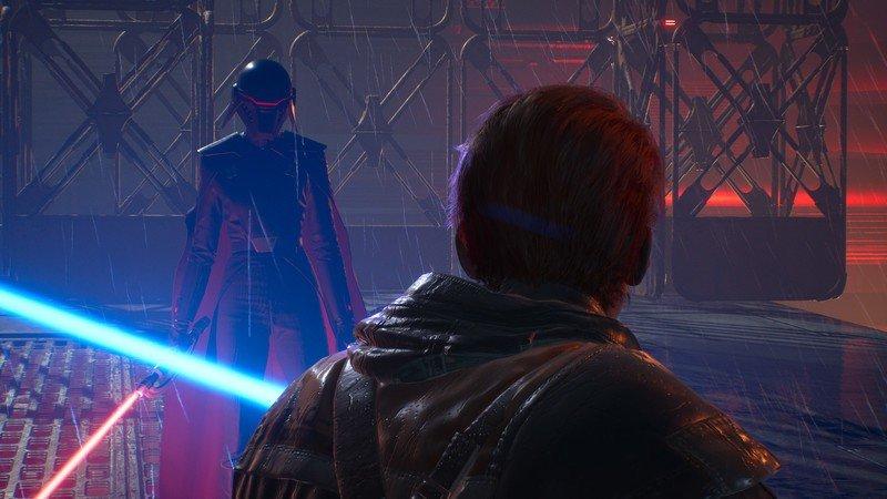 Star Wars Jedi Fallen Order Inquisitor Vs Cal