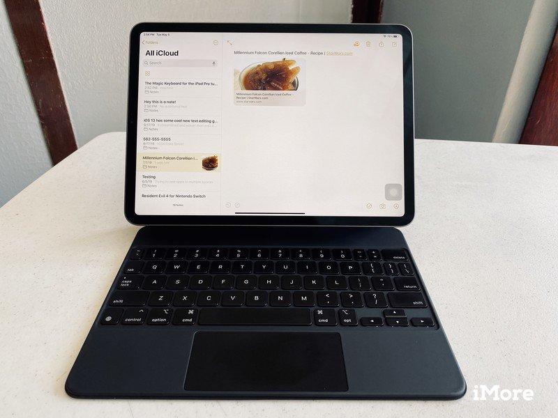 Ipad Pro Magic Keyboard Notes Hero