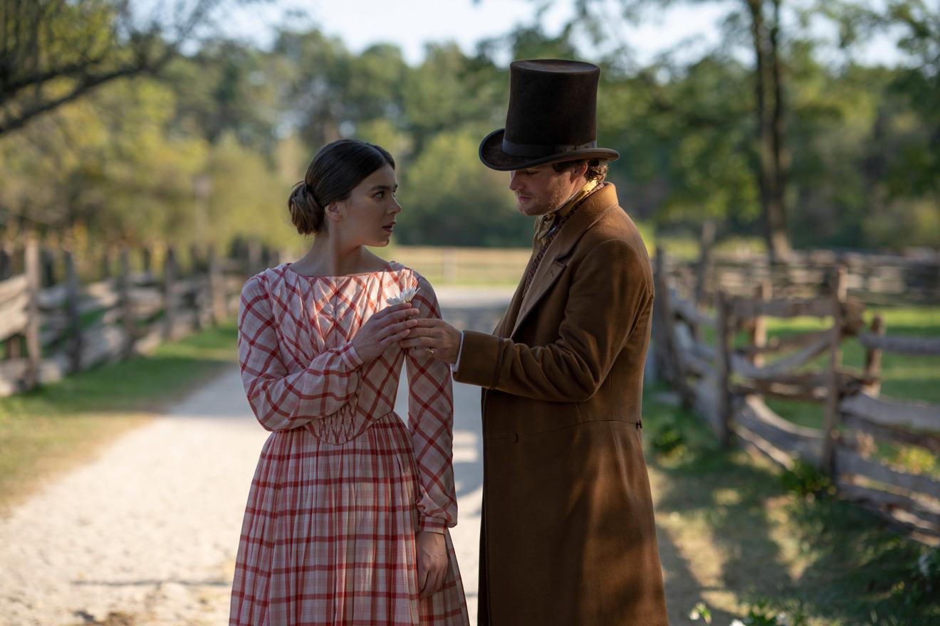 Hailee Steinfeld and Finn Jones in season two of