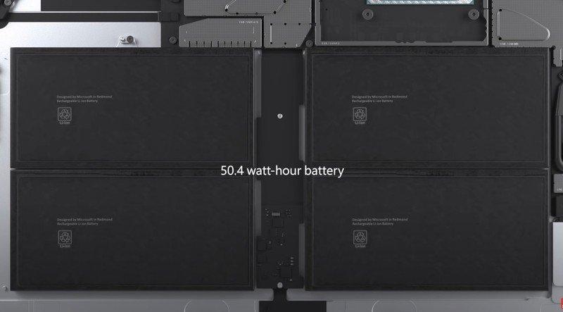 Surface Pro7 Battery