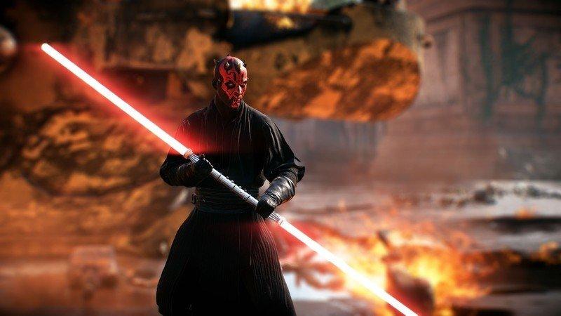 Star Wars Battlefront II Darth Maul