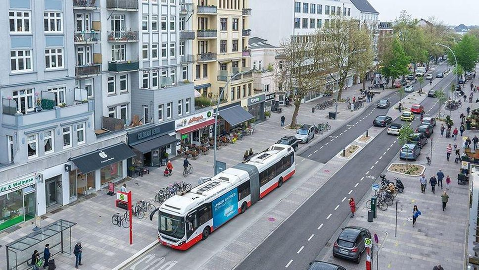A central feature of Hamburg's transit strategy is the concept of an intelligent transportation system, which uses various smart city technologies to knit all the pieces together. The elements include self-piloted subway trains and autonomous minibuses, and, eventually, a mobility-as-a-service system that allows travellers to book bike or scooter rentals, carpooling trips or ride-shares from a single app.
