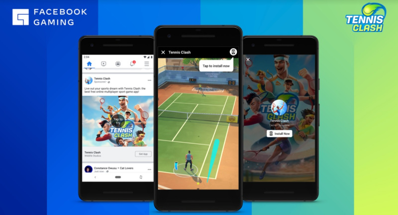 Facebook Gaming is launching cloud-based free-to-play games.