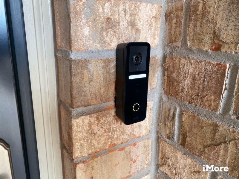 Logitech Circle View Doorbell Review angled view