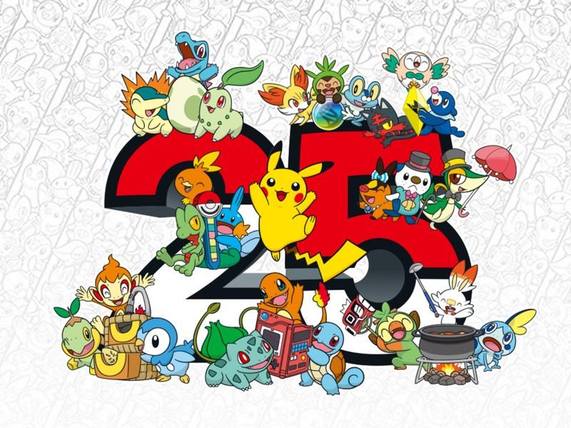 Pokemon 25th Anniversary Bigger