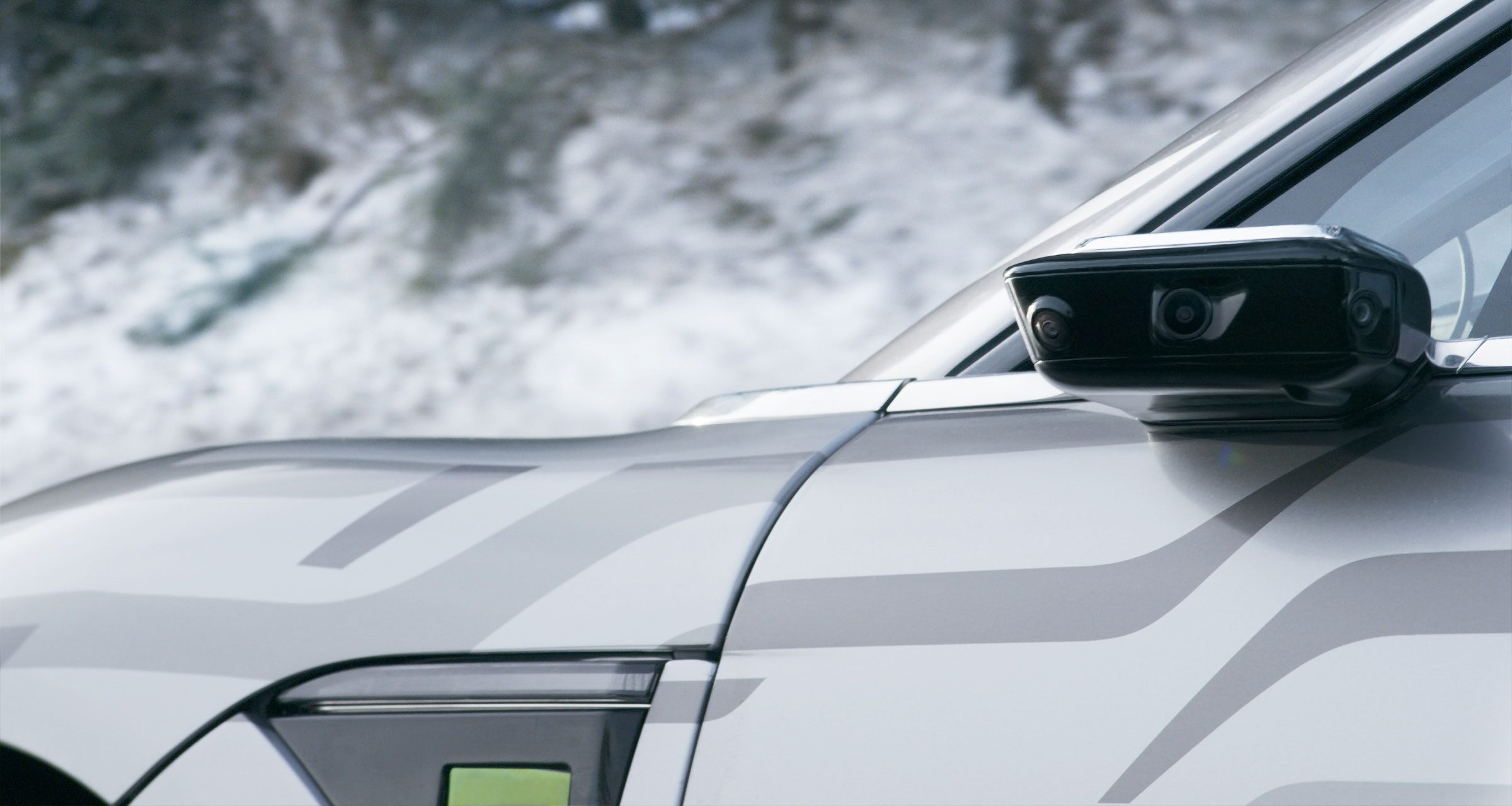 Sony's electric car tested on European roads