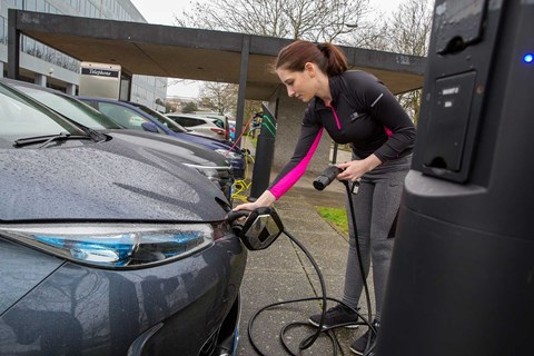 Charging an electric car: still a stumbling block for many considering an EV (Getty)