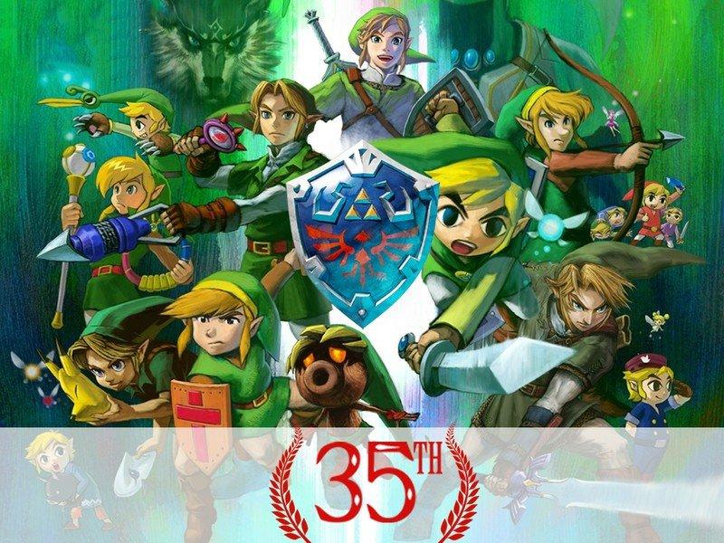 Zelda 35th Anniversary Hero White