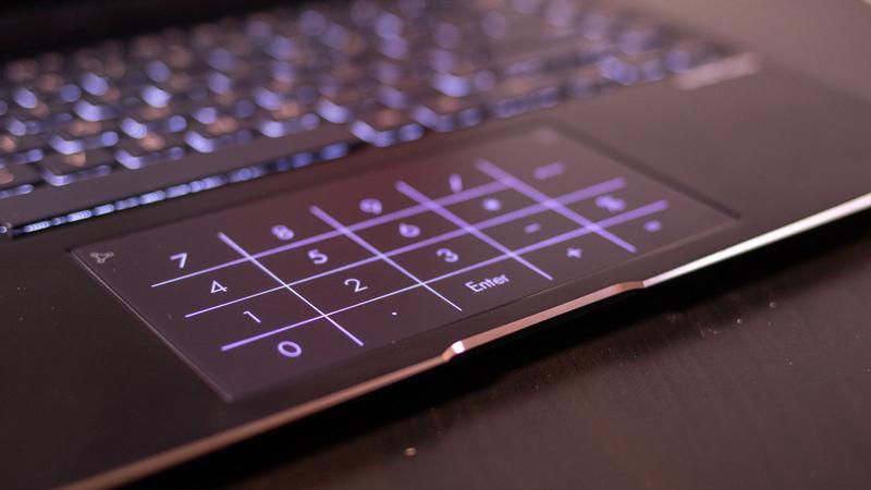 Asus ZenBook Flip S NumberPad 2.0