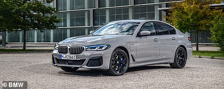 Luxury car: BMW 5 Series