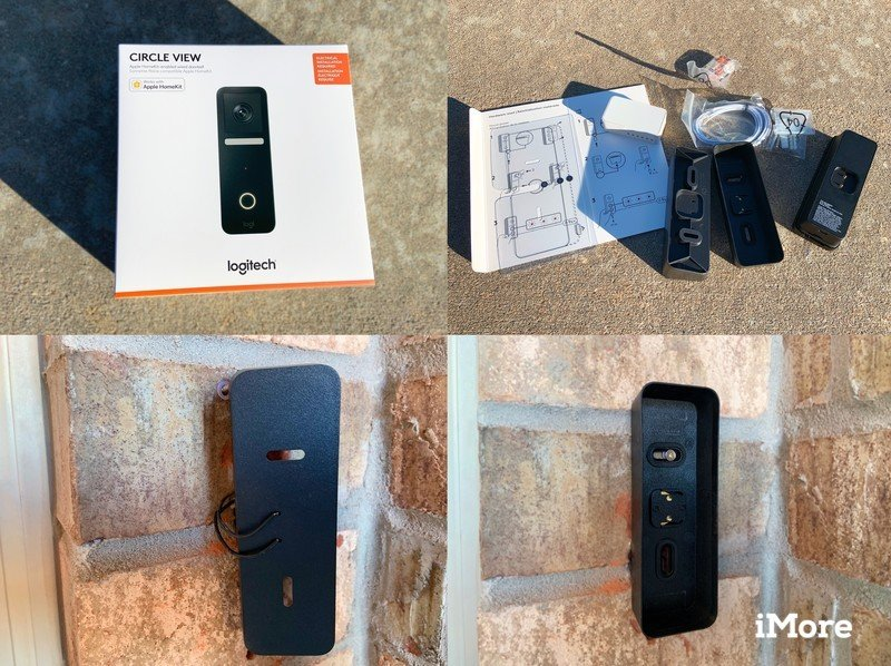 Logitech Circle View Doorbell Review Installation