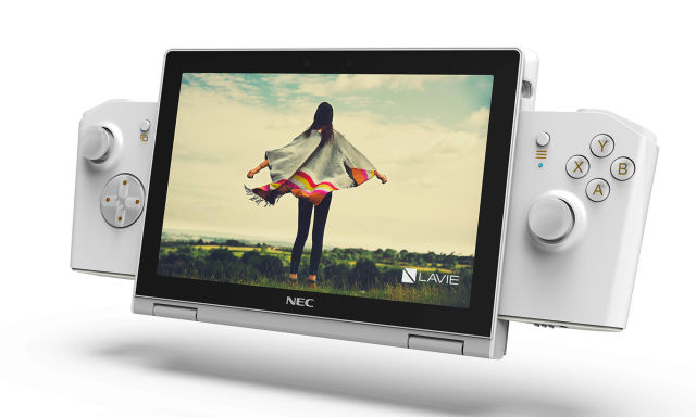 Lenovo NEC Lavie Mini concept gaming PC.