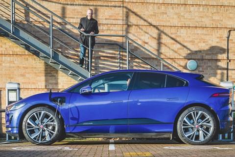 Jaguar I-Pace and Phil McNamara