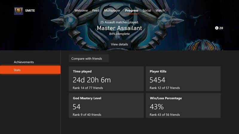 Xbox Stats