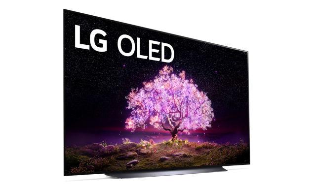 LG C1 OLED TV.